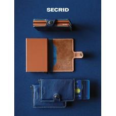 SECRID Miniwallet Geldbörse Navy blue
